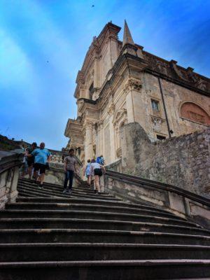Jesuit Steps Shame Steps Old Town Dubrovnik Croatia 1