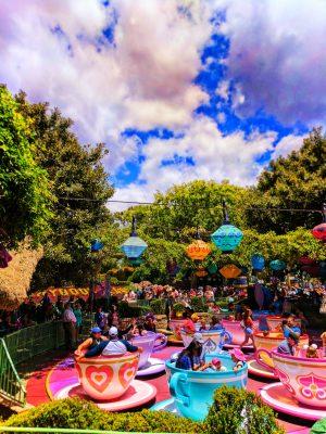 Mad Tea Party Teacups in Fantasyland Disneyland 6