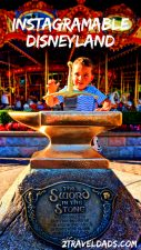 The most Instagramable spots in Disneyland include everything from the Castle to finding the details in the park. Photography tips and best ways to enjoy Disneyland. 2TravelDads.com