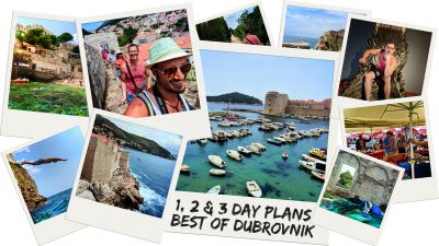 The best activities in Dubrovnik show you the sights and get you in with the people. Multiple itineraries for how to explore Dubrovnik over several days. 2traveldads.com
