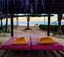 Sunrise on Caribbean at Villas Flamingos Isla Holbox Yucatan Yoga Retreat 4