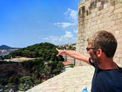 Tom at Fort Lovrijenac Dubrovnik Croatia 3
