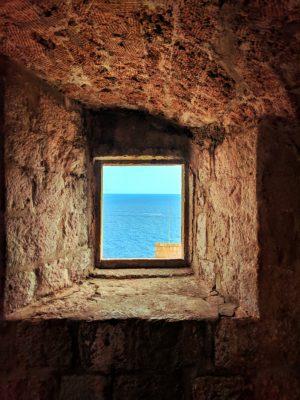 View from Fort Lovrijenac Dubrovnik Croatia 3