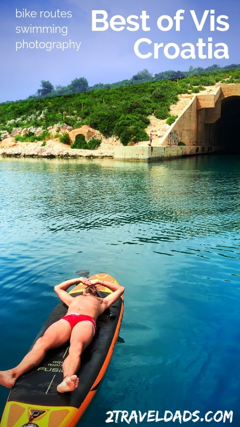 The best things to do in Vis Croatia include biking, swimming and more. Bike routes around Vis, swimming spots, photography tips for Vis, Croatia. 2traveldads.com