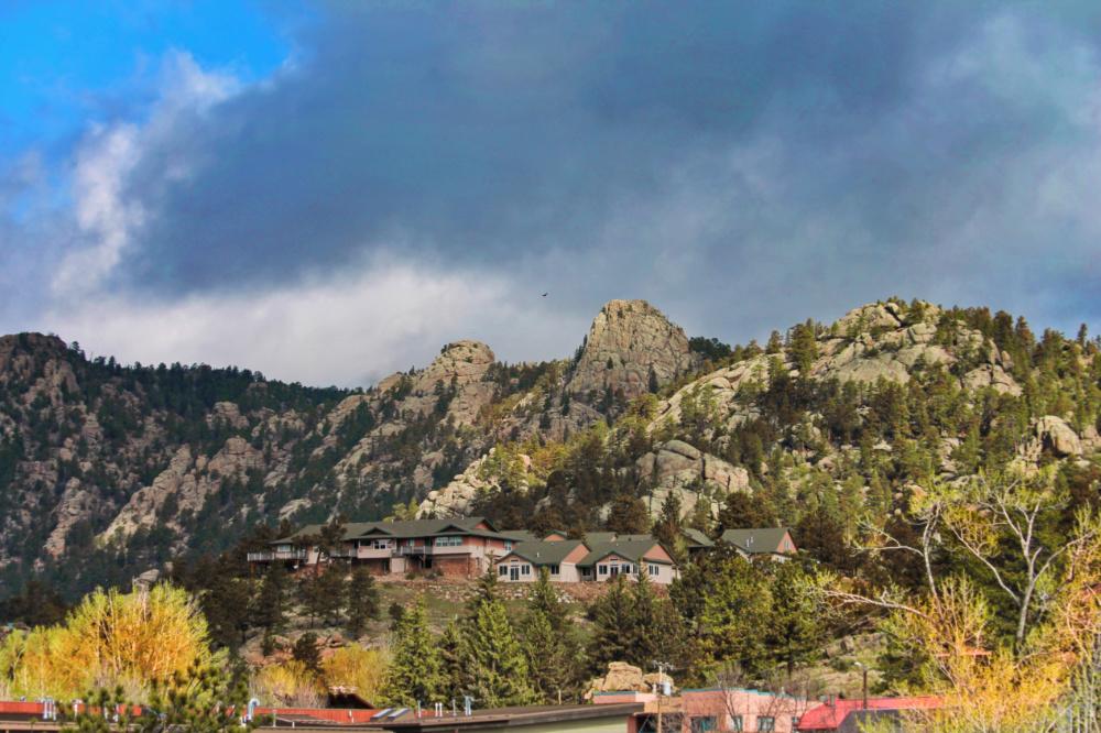 Fall Colors Mountains surrounding Estes Park Colorado 1