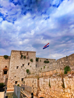 Fortress St George above Vis Croatia 1