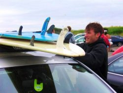 Rich Ski Like a Dad surfing at Westport Washington Coast 2