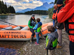 Taylor Family float trip Canmore Raft Tours Canmore Banff Alberta 2