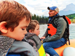 Taylor Family float trip Canmore Raft Tours Canmore Banff Alberta 6