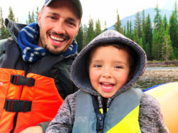 Taylor Family float trip Canmore Rafting Banff Alberta 4