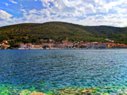 Town of Vis Croatia from across the bay 1
