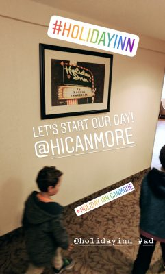 Holiday Inn Canmore Instagram Story