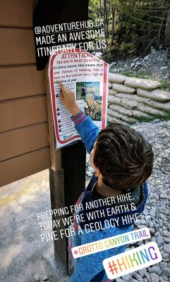 Geology Hiking with Earth & Pine Outdoors Inc Canmore Alberta