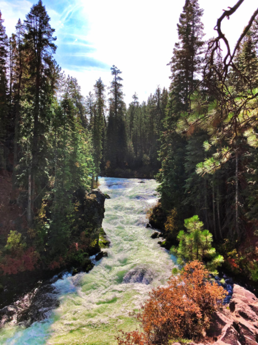 Benham Falls Deschutes National Forest Bend 6