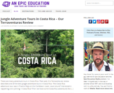 Blog Post Family Travel is An Epic Education Travel with Kids