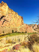 Canyon Trail to Misery Ridge Trail Smith Rock State Park Terrabonne Oregon 1