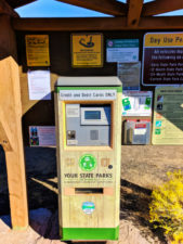 Day Use Pass fee machine Smith Rock State Park Terrabonne Oregon 2