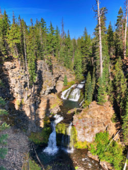 Double Falls Tumalo Creek Deschutes National Forest Bend Oregon 3