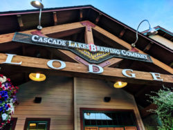 Entry to Cascade Lakes Brewing Company Bend Oregon 1