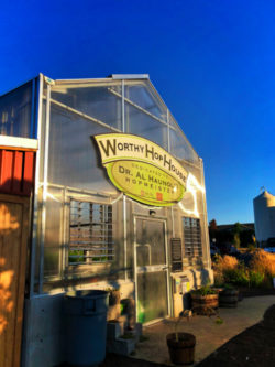 Garden at Worth Brewing Bend Oregon 2