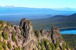 Rocky Crags at Paulina Peek Newberry Caldera National Volcanic Monument Bend Oregon 2
