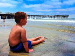 Taylor Family at Pacific Beach Pier San Diego California 2