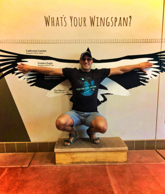 Taylor Family wingspan exhibit at High Desert Museum Bend Oregon 2