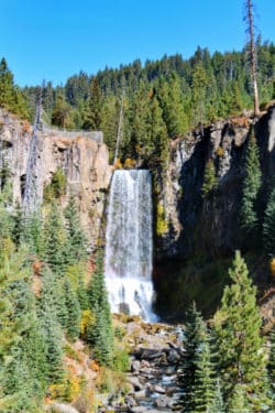 Tumalo Falls Deschutes National Forest Bend Oregon 11