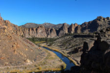 View of Homestead Trail on Crooked River Smith Rock State Park Terrabonne Oregon 2