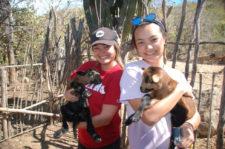 Visiting farm on Ecotour hike La Paz Baja California Mexico Adventures in Baja 2