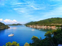 Bay of Polace Pride Sailing Holidays Isle of Miljet Croatia 1