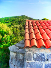 Church of St Nicholas above in Okuklje on Isle of Mljet Croatia 1