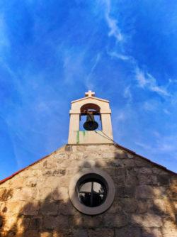 Church of St Nicholas above in Okuklje on Isle of Mljet Croatia 3