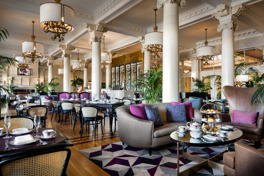 Fairmont Empress Lobby Lounge, photo credit: Tourism Victoria