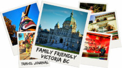 Family friendly Victoria BC travel plan. Ideal itinerary for visiting southern Vancouver Island with kids, travel journal or four days in Victoria. 2traveldads.com