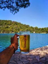 Kalovacko Beer at Benedictine Monastery of St Mary at Mljet National Park Isle of Mljet 2