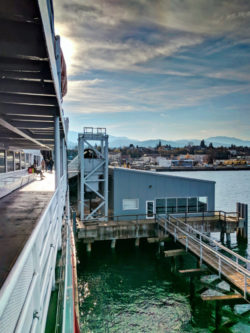 MV Coho Ferry leaving from Port Angeles Waterfront 4