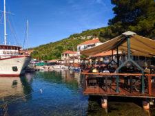 Port of Polace on the Isle of Miljet Croatia 1