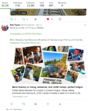 2TravelDads Twitter Page example
