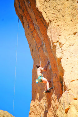 Rock Climbers in Smith Rock State Park Terrabonne Oregon 14