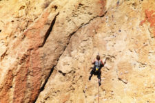 Rock Climbers in Smith Rock State Park Terrabonne Oregon 8