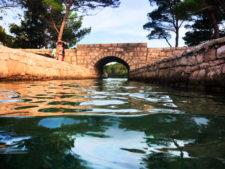 Swimming at Miljet National Park Polace Pride Sailing Holidays Isle of Mljet Croatia 1