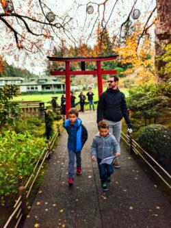 Taylor Family at Butchart Gardens Victoria BC 12