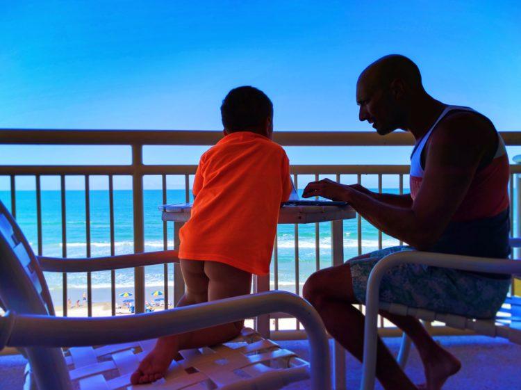 Taylor Family at The Shores Daytona Beach 2