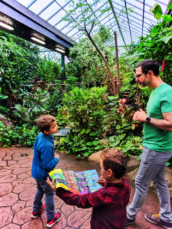 Taylor Family at Victoria Butterfly Gardens Victoria BC 4