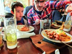 Taylor Family breakfast at The Ruby on Douglas Hotel Zed Victoria BC 1