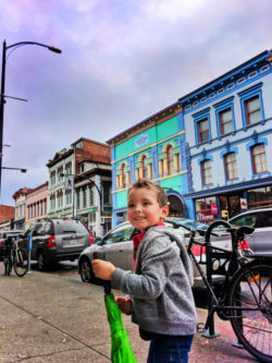 Taylor Family in Chinatown Victoria BC 3