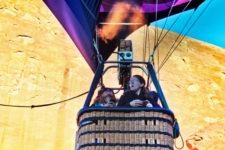 Adventure Mom Morning hot air ballooning over Red Rocks Park Gallup NM 19