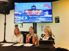 Bloggers speaking at TBEX Finger Lakes Corning NY 1