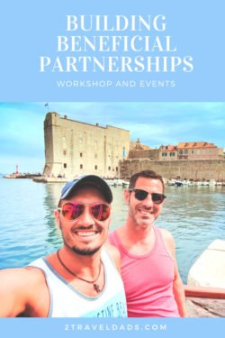 1 Day Workshop for brands and destinations focusing on building beneficial partnerships with regional outlets and micro-influencers. From building content plans to budgeting, workshop covers the basics of altering small business and big brand marketing approaches. 2traveldads.com